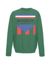 brooklyn chewing gum kids sweatshirt green