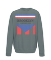 brooklyn chewing gum kids sweatshirt charcoal