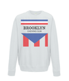 brooklyn chewing gum kids sweatshirt grey