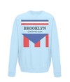 brooklyn chewing gum kids sweatshirt light blue