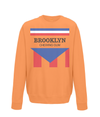brooklyn chewing gum kids sweatshirt orange