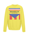 brooklyn chewing gum kids sweatshirt yellow