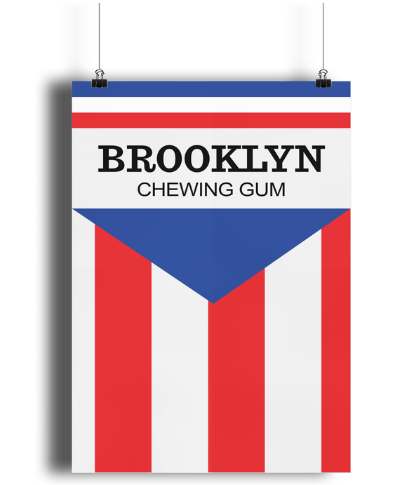 Brooklyn Chewing Gum poster