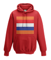 dutch cycling kids hoodie red