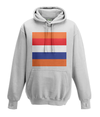 dutch cycling kids hoodie white