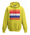 dutch cycling kids hoodie yellow