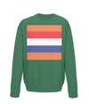 dutch cycling kids sweatshirt green