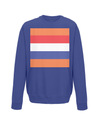 dutch cycling kids sweatshirt navy