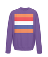 dutch cycling kids sweatshirt purple