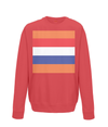 dutch cycling kids sweatshirt red