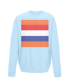 dutch cycling kids sweatshirt light blue