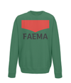 faema kids cycling sweatshirt green