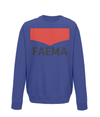 faema kids cycling sweatshirt navy