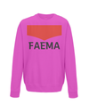 faema kids cycling sweatshirt pink