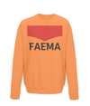 faema kids cycling sweatshirt orange