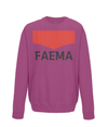 faema kids cycling sweatshirt burgundy