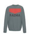 faema kids cycling jumper charcoal