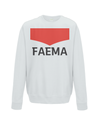 faema kids cycling jumper grey