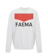 faema kids cycling jumper white