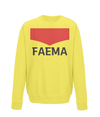 faema kids cycling jumper yellow