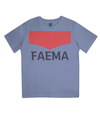 faema kids cycling t-shirt - blue