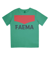 faema kids cycling t-shirt - green