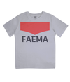 faema kids cycling t-shirt - grey