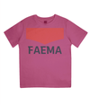 faema kids cycling t-shirt - pink