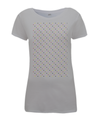grand tour dots women's cycling t-shirt grey