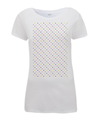 grand tour dots women's cycling t-shirt white