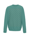 grand tours dots sweatshirt green