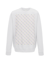 grand tours dots sweatshirt white