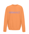 hinault kids cycling sweatshirt orange
