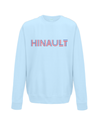 hinault kids cycling sweatshirt light blue