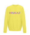hinault kids cycling sweatshirt yellow