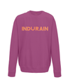 indurain kids cycling sweatshirt burgundy