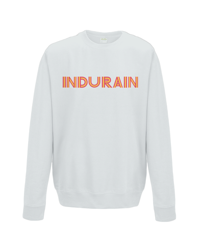 indurain kids cycling sweatshirt grey