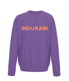 indurain kids cycling jumper purple