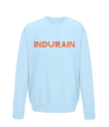 indurain kids cycling sweatshirt light blue