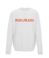 indurain kids cycling sweatshirt white