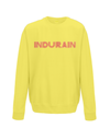 indurain kids cycling jumper yellow