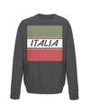 italia cycling kids sweatshirt black