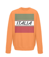 italia cycling kids sweatshirt orange