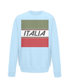 italia cycling kids sweatshirt light blue