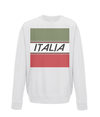 italia cycling kids sweatshirt white