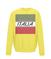italia cycling kids jumper yellow