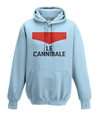 le cannibale kids hoodie light blue