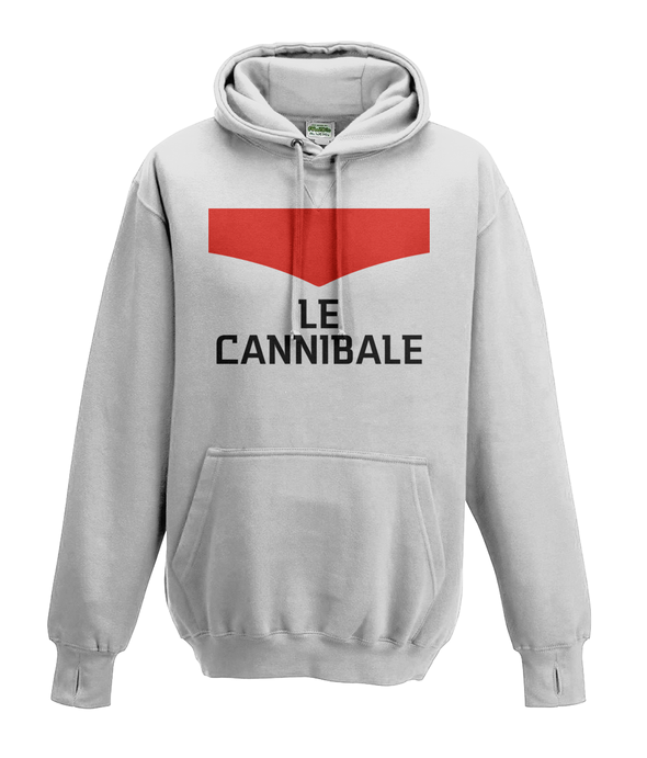 le cannibale kids hoodie white