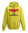 le cannibale kids hoodie yellow