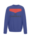 le cannibale kids cycling sweatshirt navy